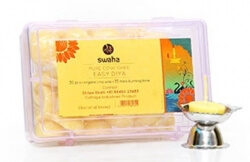 Pure Cow Ghee Easy Diya 30 Pcs-Swaha