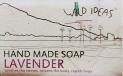 Hand Made Soap Lavender 40 Gms- Wild Ideas