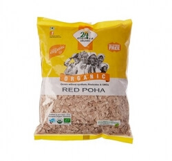Red Poha 500 Gms- 24 Mantra