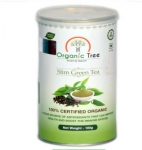 Slim Green Tea 100 Gms - Organic Tree