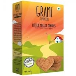 Little Millet Cookies 150 Gms - Grami