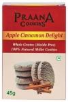 Apple Cinnamon Cookies 45 Gms - Praana