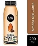 Coffee Almond Milk 200 Ml - Raw Pressery