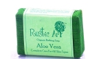 Aloevera Soap 100 Gms - Rustic Art