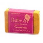 Geranium Soap100 Gms - Rustic Art