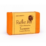 Turmeric Soap 100 Gms - Rustic Art