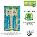 Bentodent Tooth Paste Mint 100 Gms - Bentodent