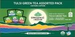 Tulsi Green Tea Assorted Pack 25 Bags - Organic India