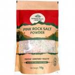 Pink Rock Salt Powder 1Kg - Organic India