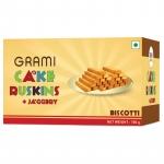 Cake Rusking Jaggery 180 Gms - Grami