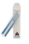 Steel straws pack of 4 - Rusable