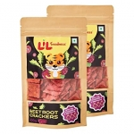 Beetroot Crackers 100 Gms - Lil Goodness