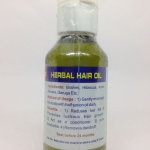 Herbal Hair Oil 100 Ml - OM