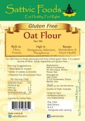 Oat Flour 500 Gms-Sattvic Foods