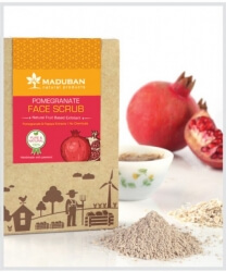 Pomegranate Face Scrub 100 Gms-Maduban