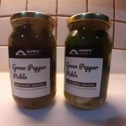 Green Pepper Pickle 400 Gms - Saveral Naturals