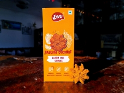 Rajgira Coconut Gluten Free Cookie 150 Gms - Kivu
