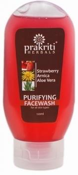 Strawberry Face Wash 200 Ml-Prakriti Herbals