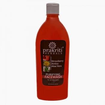 Strawberry Face Wash 500 Ml-Prakriti Herbals