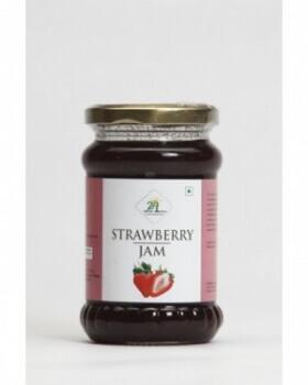 Strawberry Jam 375 Gms-24 Mantra
