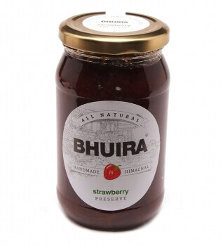 Strawberry Preserve 240 Gms-Bhuira