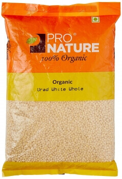 Urad White Split 500 Gms-Pro Nature