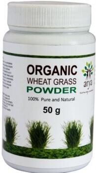 Wheat Grass Powder 50 Gms-Arya
