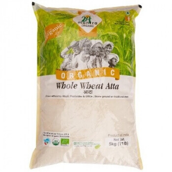 Whole Wheat Atta 5 Kg-24 Mantra