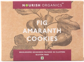 Fig Amaranth Cookies 120 Gms-Nourish