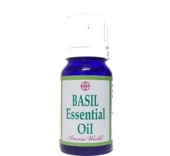 Basil Essential Oil 10 Ml-Aroma World