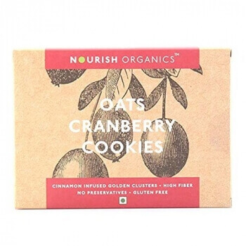 Oats Cranberry Cookies 150 Gms-Nourish