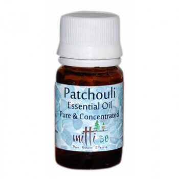 Patchouli Essential Oil 10 Ml - Mitti Se