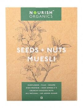 Seed & Nut Muesli 300 Gms - Nourish