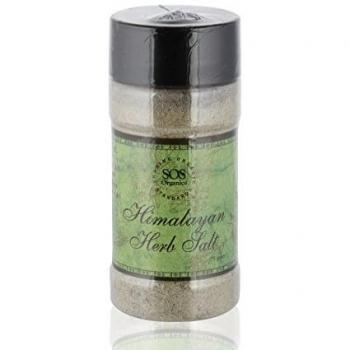Himalayan Herb Salt 75 Gm-Sos Organics