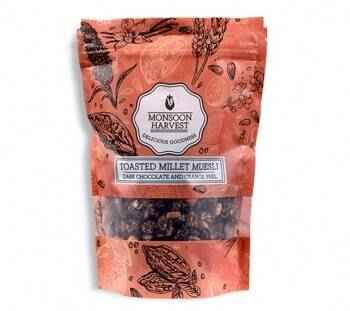 Dark Chocolate And Orange Peel 250 Gms-Monsoon Harvest