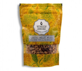 Fig & Honey Muesli 250 Gms-Monsoon Harvest