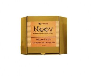 Orange Soap 100 Gms-Neev Herbal