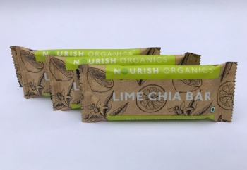 Lime Chia Bar 30 Gms -Nourish