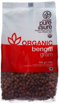 Bengal Gram Whole 500 Gms-Phalada
