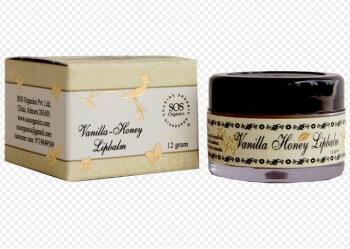 Vanilla Honey Lip Balm 12 Gms-Sos Organics
