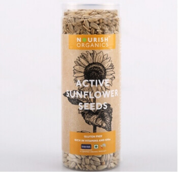 Active Sunflower Seeds 150 Gms - Nourish