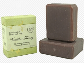 Vanilla Honey Soap 100 Gms-Sos Organics