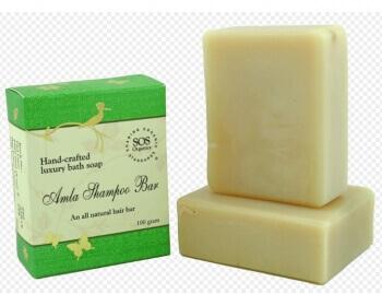 Amla Shampoo Bar Soap 100 Gms-SOS Organics