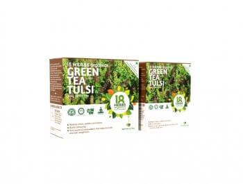 Green Tea Tulsi 17 Bags-18 Herbs