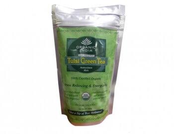 Tulsi Green Tea 100 Gms Zip-Organic India
