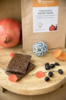 Pomegranate Energy Bar 35 Gms-Maduban