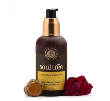 Indian Rose Face Wash 120 Ml-Soul Tree