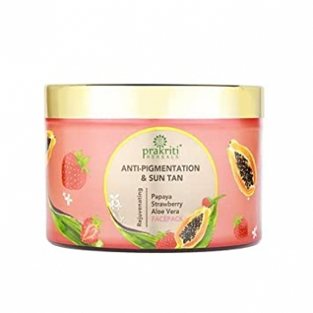 Papaya Face Pack 250 Gms-Prakriti Herbals