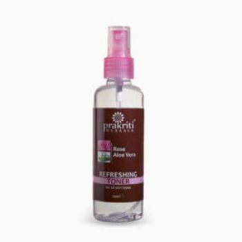 Rose Water Toner 100 Ml-Prakriti Herbals