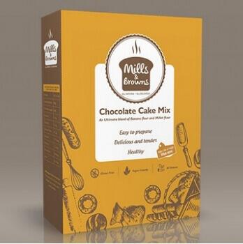Chocolate Cake Mix 365 Gms-Mills & Browns
